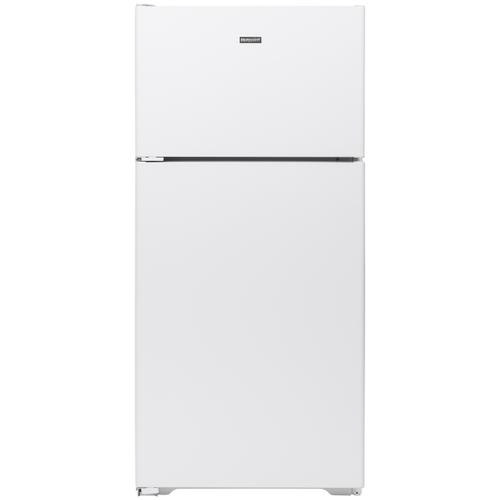 Hotpoint ENERGY STAR® 15.6 Cu. Ft. Recessed Handle Top-Freezer Refrigerator