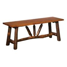 See Details - WAGON WHEEL BENCH