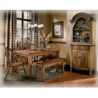 See Details - Berringer Dinette with 4 Chairs and Bench