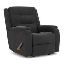 See Details - Arlo Fabric Power Recliner w/ Tilt Headrest & Lumbar - 116-02