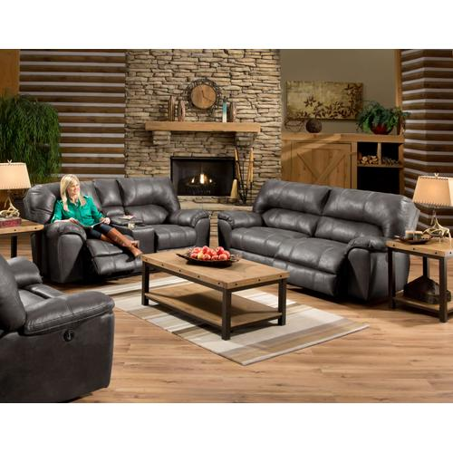 AF740 Stallion Gray Reclining Sofa Only