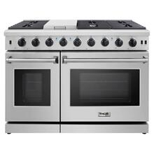 48-inch Professional Gas Range in Stainless Steel