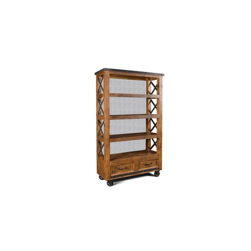 "Urban Rustic 72"" Bookcase"