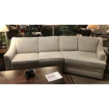 """Two-piece sectional """"as is"""""""