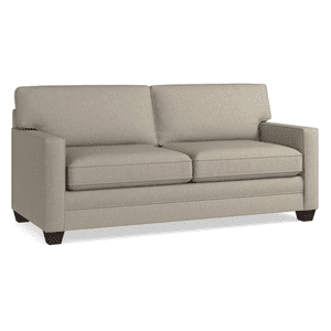 Alex Track Arm Sofa - Straw
