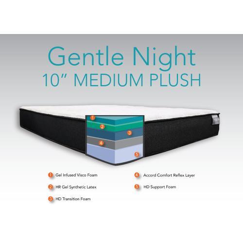 "Accord Comfort Sleep Systems - Gentle Night - 10"" Medium Plush"