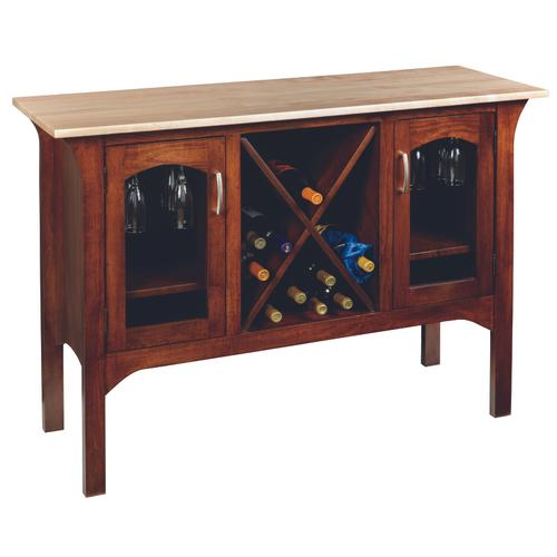 Country Value Woodworks - Monarch Wine Server