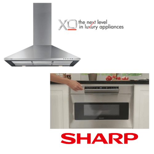 """Packages - 30"""" Hood and 24"""" Drawer Microwave"""
