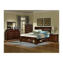 Queen Bed (King Available), Dresser, Mirror, Chest and Nightstand