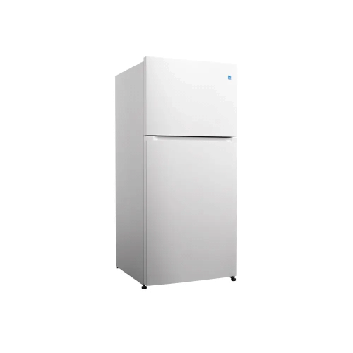 Element Appliance Element 18 CF Top Mount Refrigerator In White - Glass Shelving