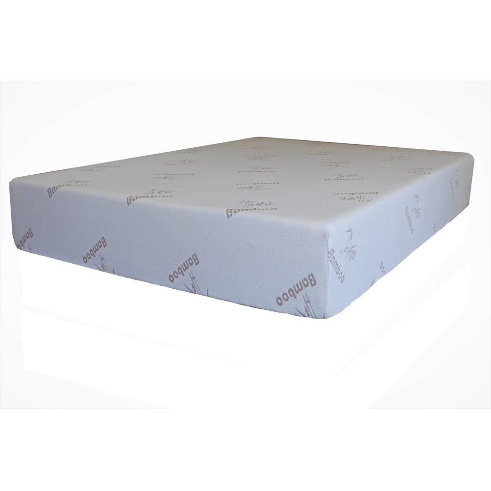 "Memory Foam Bamboo 10"" Mattress"