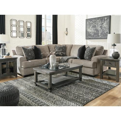 Bovarian 2-piece Sectional Stone