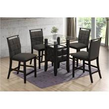 View Product - D4040 - 5PC. Glass Dining Table