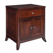 Kingston 1 Drawer 2 Door Nightstand