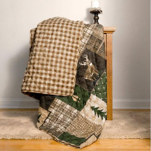 Green Forest Throw