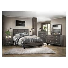 Davi Qn Bed, Dresser, Mirror and Nightstand