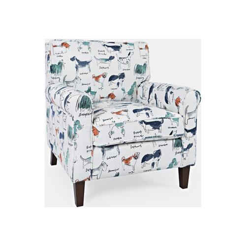 Jofran - Baxter Doggie Accent Chair