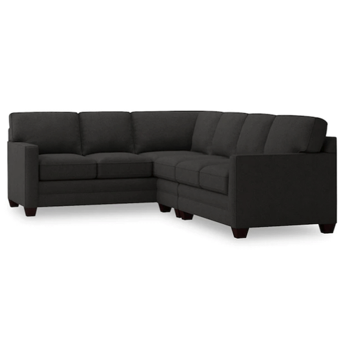 Alex Track Arm Right Sectional - Charcoal