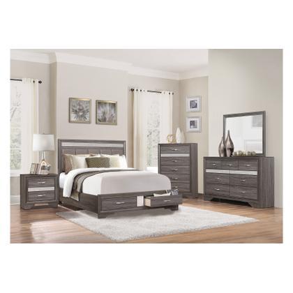 Queen Bed, Dresser/Mirror, Nightstand