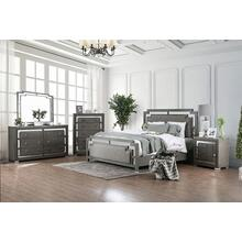 See Details - 4-PC Bedroom Suite: Bed-Frame, Dresser, Mirror & (1) Nightstand: Add $100 for Cal-King
