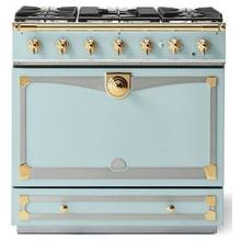 Roquefort Albertine 90 with Polished Brass Accents