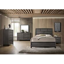CrownMark 4 Pc Queen Bedroom Set, Akerson B4620