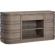 Pacifica Aged Sea Salt Buffet with Wood Top Buffett