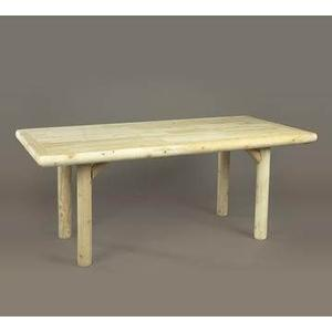 Solid Top Dining Table