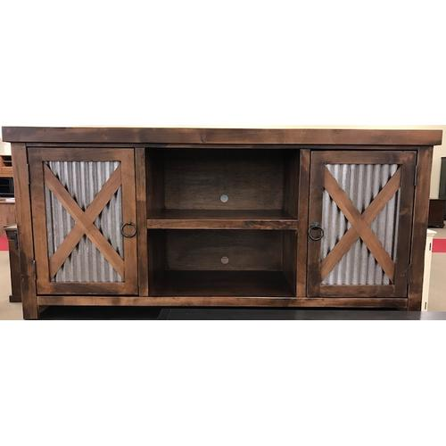 """Legends - 65"""" TV Console - Whiskey"""
