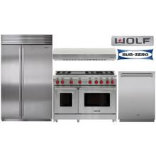 "48"" Wolf Gas Range Package"