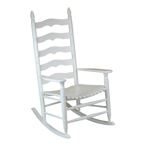 400SBF Black, 400SMF Maple or 400SWF White - Slat Rocker