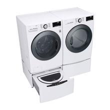 LG 4.5 cu. ft. Smart Wi-Fi Enabled Washer w/TurboWash & Electric Dryer Pair.  Includes Sidekick Pedestal Washer w/ TWINWash System Capability