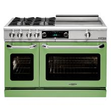 "Connoisseurian 48"" Dual Fuel Self Clean Range (Pale Green)"