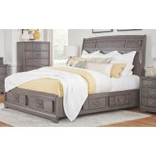 LIFESTYLE C8472-GTO C8472-GTG C8472-GXJ C8472-BTN C8472-MXS Lorrie Weather Greywash - King Storage Bed