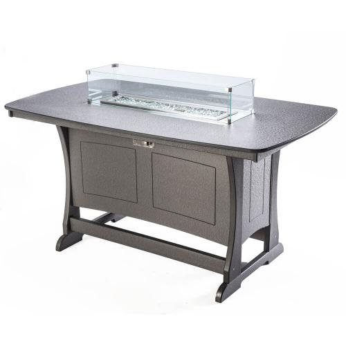 Perfect Choice - Classic Counter Height Fire Table
