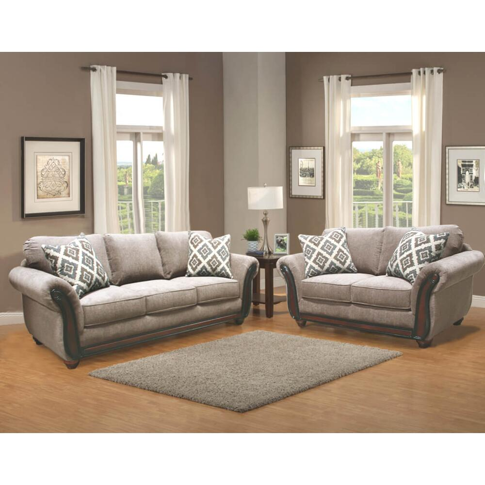 Aspen Sofa and Love Seat