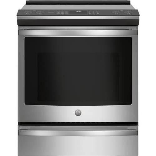 """GE Appliances - GE Profile™ 30"""" Smart Slide-In Front-Control Induction and Convection Range"""