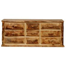 See Details - Aspen Kodiak 9 Drawer Dresser