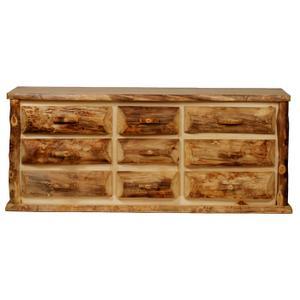 Aspen Kodiak 9 Drawer Dresser