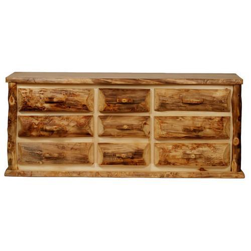 House Lodge Collection - Aspen Kodiak 9 Drawer Dresser