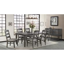 View Product - 7 Piece Set (Dining Table and 6 Side Chairs)