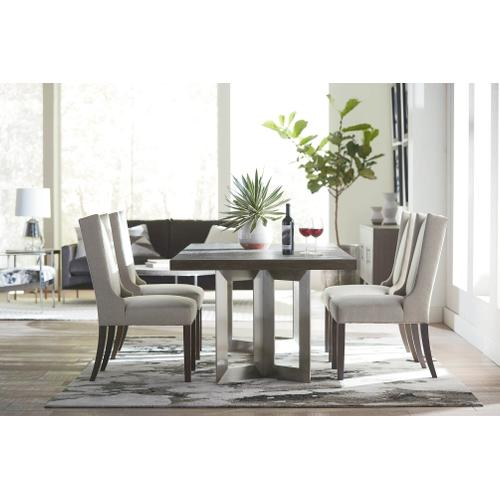 Bassett B Modern Rectangle Dining Table & 4 Side Chairs