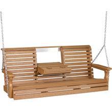 Plain Swing 5' Premium Antique Mahogany