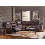 988 Breckenridge Reclining Sectional Tobaccoi