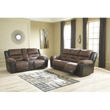Reclining Sofa and Loveseat - Available in Gray and Black