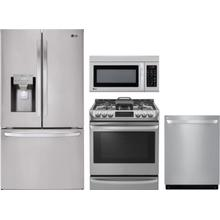 LG 4 Pc Kitchen Package