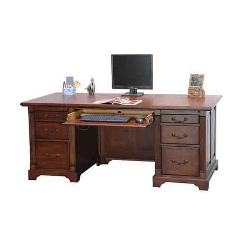 "Country Cherry 72"" Flattop desk"