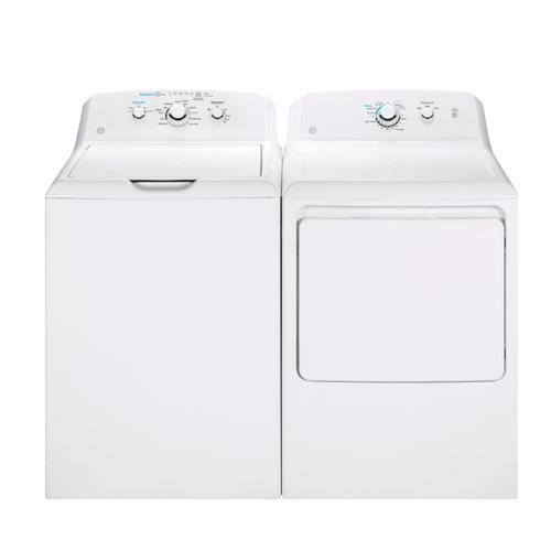 GE 4.2 cu. ft. Washer with Stainless Steel Basket & 7.2 cu. ft. Electric Dryer
