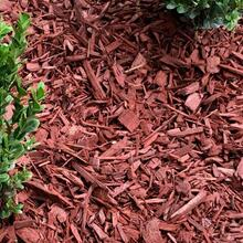 Red Dyed Mulch (Recycled Product)