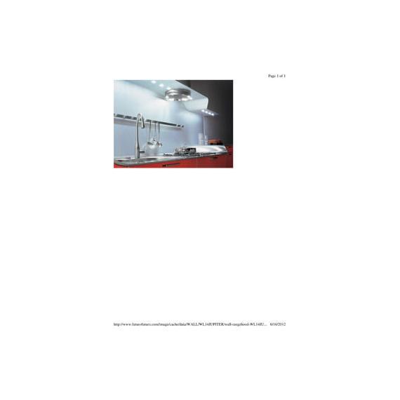 Futuor Futuro - 940 cfm 4-speed electronic control hood